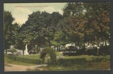 Postcard WOODLAWN CEMETERY Wadsworth Ohio Pub by Joe Bender Germany NEWVOCHROME