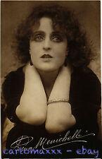 Postcard - Pina Menichelli - Cinema Attrice - Actress Movie Star - PM006