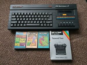Sinclair ZX Spectrum 128k +2A Computer And Games