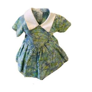 Vintage Toddler 8 inch Doll Dress 1950s Fits Ginny Muffie Alexander Kins