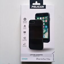 Pelican Voyager Case Holster Screen iPhone 7 Plus 6s Plus Black Brand New OEM