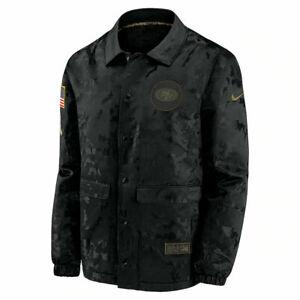 San Francisco 49ers Nike 2020 Salute To Service Jacket Men's Size: Large