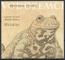 [314300] Croatia 2013 Frogs good complete booklet very fine MNH