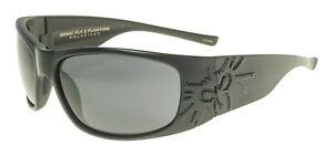 NEW BLACK Flys Sunglasses SONIC FLY 2 FLOATING POLARIZED MATTE Black SMOKE LENS