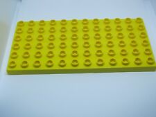 LEGO DUPLO @@ PLAQUE 4196 @@ PLATE 6 X 12 TENONS @@ JAUNE YELLOW