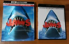 Jaws (4K Ultra HD and Blu-ray) Richard Dreyfuss, Spielberg - No Digital