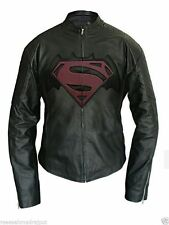 Hombre Artificial Celebrity Chaqueta De Cuero Batman Vs Superman 2016 Dawn of