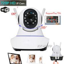 New Wireless 720P Pan Tilt Network Security CCTV IP Camera Night Vision WiFi Cam