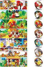 Easter Egg Wraps for 7 Hen Eggs, Pysanka, Pysanky Eggs Heat Shrink Sleeves,#33
