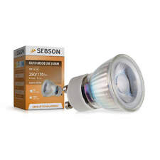 LED Lampen GU10 warmweiss, GU10 LED 3W, 35mm, 230V, LED Leuchtmittel COB, SEBSON