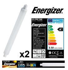 2x S15 3.5w (=30W) bande lumière LED Tube 221mm givré Opale (Energizer S9217)