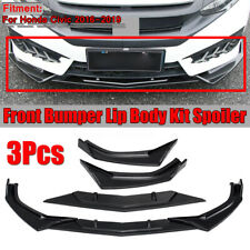 For Honda Civic 2016-2019 Sedan Front Bumper Lip Splitter Spoiler Cover Trim