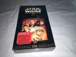 "Star Wars Episode I: The Phantom Menace VHS ""NEW"" Liam Neeson Fast Free Ship"