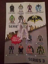 """BATMAN UNLIMITED MIGHTY MINIS SERIES 3 BATMAN  POLAR 2"""" FIGURE LOOSE UNUSED"""