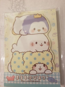 Sanrio Marumofubiyori Notepad Die Cut