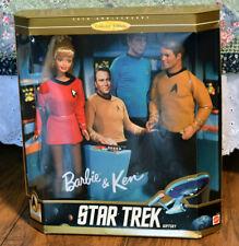 Barbie and Ken Star Trek Gift Set 30th year anniversary NEW IN BOX