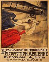 AIRPLANE AVIATION EXPOSITION INTERNATIONALE PARIS FRENCH 8 X 10 PRINT