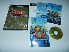 Zelda Wind Waker Nintendo Gamecube Game Complete CIB Tested Windwaker