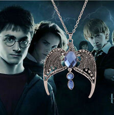 Harry Potter the Deathly Hallows Ravenclaw's Diadem Pendant Necklace Chain XX