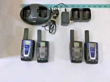 Lot of 4 COBRA MICROTALK (2 CXR700 & 2 LI 5600) Two Way / Radio-Walkie-Talkie