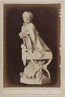 Genoa Cimitero Italia Foto Alfredo Noack PL17c1n34 Armadio Vintage Albumina