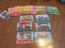 Animal Crossing SERIES 2 CARDS 55 COMPLETE YOUR SET +  6 EXTRA WELCOME AMIIBO