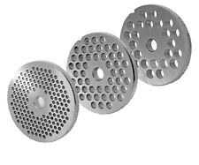 Jeu de Disques Perforés pour Hache-Viande Tailles 10/12 3mm+6mm+8mm Forage