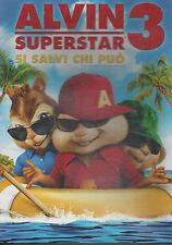 Dvd **ALVIN SUPERSTAR 3 ♥ SI SALVI CHI PUO'** Slipcase nuovo sigillato 2011