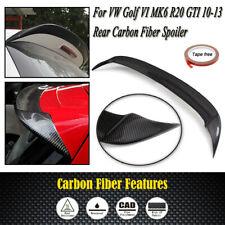 Spoiler Wing For VW Golf VI MK6 R20 GTI 2010-2013 Carbon Fiber Car Rear Spoiler