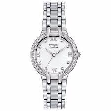 Citizen Eco-Drive Women's EM0120-58A Bella Diamond Accents 29mm Bracelet Watch