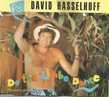 DAVID HASSELHOFF Do the Limbo Dance 3TRX MIX & INSTRUMENTAL CD Single USA Seller