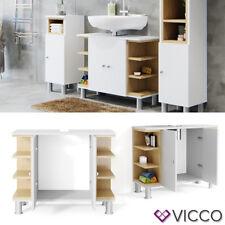 VICCO Meuble sous vasque Aquis Meuble armoire de bain meuble meuble-lavabo