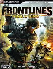 Frontlines: Fuel Of  War - off. Lösungsbuch, engl. NEU