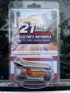 Hot Wheels  21st Nationals Atlanta Convention Volkswagen VW Drag Bus IN HAND