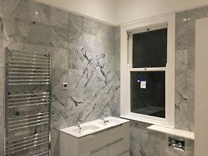 Marble Tiles, Bianco Venatino Polished Marble Tile, Floor/Wall Tiles, 305x305mm