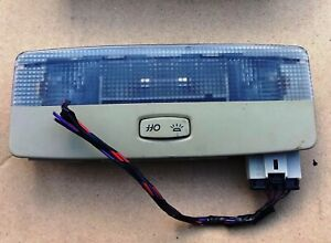 2002 07 NISSAN PRIMERA P12 1.6 PETROL FRONT SEAT DOME LIGHT USED
