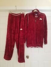 Nike Air Jordan Flight  Men's Red Burgandy Sweatsuit Swearshirt / Pants size M