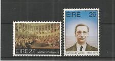 Irlanda 1982 Grattan el Parlamento SG, 528-529 U/M nh Lote 3746A