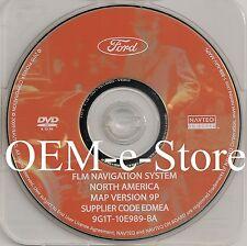 9P Update 2007 2008 Lincoln MKX MKZ / Navigator L / Mark LT Navigation DVD Map