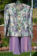 Karen Lawrence By Matthew Size 8 Vintage Dress Jacket & Skirt (Used)