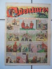 AVENTURES / NUMEROS 37  /  14  SEPTEMBRE  1937