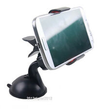 360°Clip-on Grip Car Windscreen Suction Mount Holder for Latest Mobile Phones