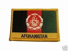 Afghanistan Embroidered Flag patch -Iron on or Sew