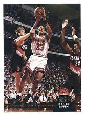 Scottie Pippen 1992-93 Topps Stadium Club card, # 367. Chicago Bulls