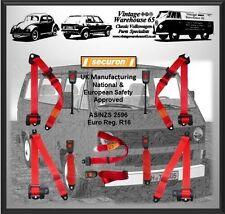 VOLKSWAGEN TRANSPORTER T3 T25 JUEGO COMPLETO DELANTERO Y TRASERO ROJO