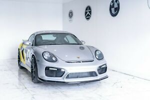 Porsche Cayman Styling Front Bumper GT4 Style add on