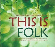 THIS IS FOLK - 52-TRACK COMPILATION OF 60s/70s UK CONTEMPORARY FOLK SEALED 3-CD