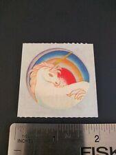 Vintage Stickers 80s RUSS DAZZLERS UNICORN Sticker Mod RARE HTF 5312