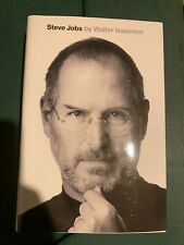 Steve Jobs biography SIGNED by Walter Isaacson