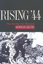 Rising '44 : The Battle for Warsaw by Norman Davies (2004, Hardcover)